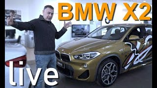 BMW X2 2018 - LIVE ОБЗОР Александра Михельсона _ БМВ Х2