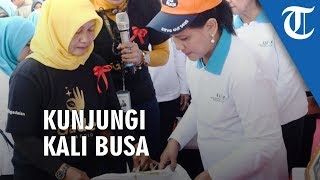 Kunjungi Kali Bahagia, Iriana Jokowi Ajak Gerakan Indonesia Bersih