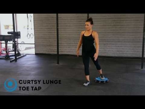 Crossover Lunge Toe Tap