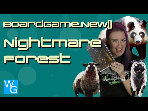 Nightmare Forest Gameplay Review - BoardGame.new()