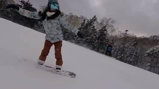[SNOWANGEL]白間美瑠ガールズスノーボーダーへの道フリーライディング3