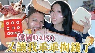 [掏錢] 讓小巴西超嫌棄的開箱...誰叫DAISO的麵包小物可愛得太犯規🍞 |Lizzy Daily