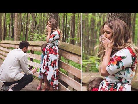 Мать-одиночка соглашается выйти замуж , но ещё не знает, что в тот день он сделает два предложения