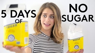 5 days of no sugar - Lucie Fink