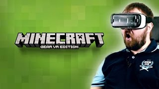 Minecraft Gear VR Edition + Oculus Home и Gear 360 - EPIC!