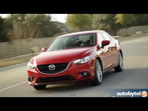 2014 Mazda6 Grand Touring Midsize Sedan Video Review