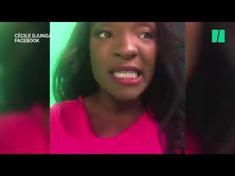 La présentatrice météo belge Cécile Djunga dénonce en larmes le racisme dont elle est victime