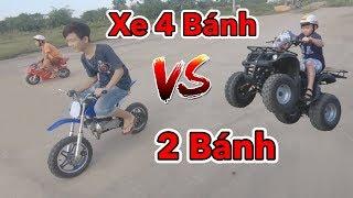 Lâm Vlog - Chạy Thử Xe Moto 4 Bánh Mini 50cc Chạy Xăng | Pocket Bike for Kids $150