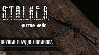 Как забрать оружие и прицел из будки Новикова в S.T.A.L.K.E.R. Чистое Небо.