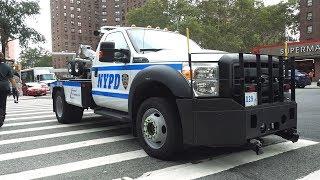 Тачки копов в США / Голые женщины в центре Нью-Йорка