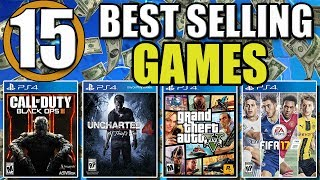 Top 15 Best Selling PS4 Games of All Time - 2017