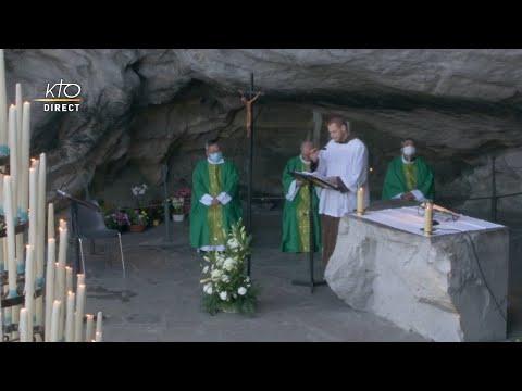 Messe de 10h à Lourdes du 15 février 2021