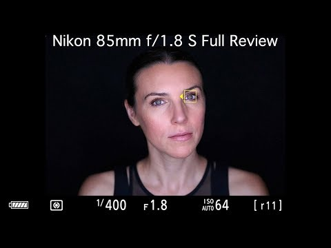 External Review Video 96RsBSEloJg for Nikon NIKKOR Z 85MM F/1.8 S Lens