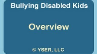 Bullying and Kids with Disabilities: Overview