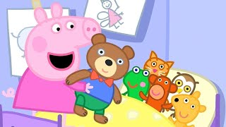 Peppa Pig Full Episodes   Teddy's Playgroup   Cartoons for Children