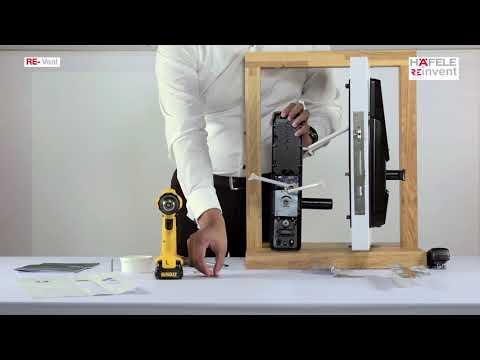 RE-veal DIgital Door Lock Installation video