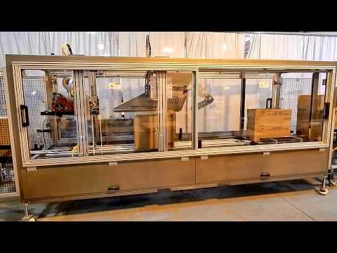 Selladora de Cajas Random RS3000 para Sellar Cajas de gran tamaño.