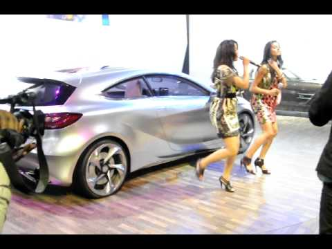 Mercedes Benz A Class concept showcased at Auto Expo 2012