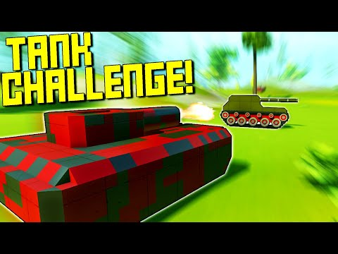 The Ultimate Tank Challenge with the Tank Tracks Mod!  - Scrap Mechanic Multiplayer