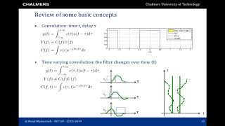 Wireless Communications: lecture 1 of 11 - Review of basic concepts