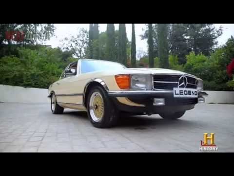Download Bob Marley 1980 Mercedes SL500 restored HD Mp4 3GP Video and MP3