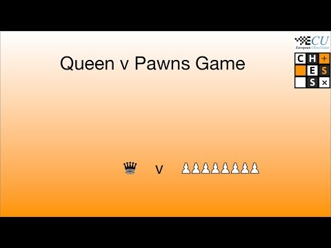 Queen v Pawns Game