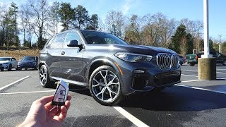 2019 BMW X5 Xdrive40i: Start Up, Test Drive, Walkaround and Review