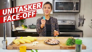 Can Any of These Four Unitasking Gadgets Outperform a Chef? — The Kitchen Gadget Test Show