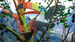 Toucannon  - (Pokémon) - TUQUITUQUI PERFEITO ( TOUCANNON ) - POKEMON JORNADA #30