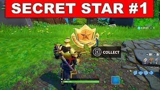 WEEK 1 SECRET BATTLE STAR LOCATION SEASON 10 GUIDE - Find the Secret Battle Star Location (Week 1)