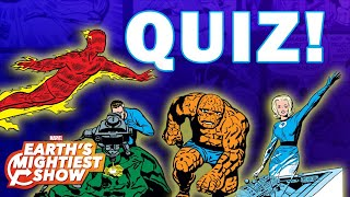 Which Fantastic Four Character Are You?   Earth's Mightiest Show Bonus