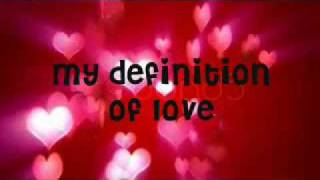 definition lyrics jordin sparks