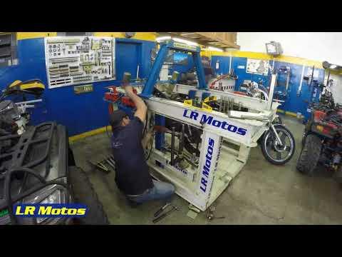 LR Motos - Processo de Manutenção da Honda Biz 125 Prata - 4398