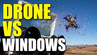 Drones vs Windows | Drones vs Glass