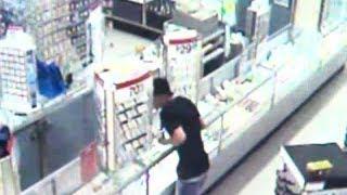 Kmart robbery video