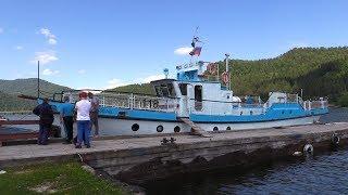 Освидетельствование самых больших маломерных судов Телецкого озера типа «Ярославец»