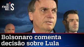 Bolsonaro diz que Fachin sempre teve forte ligação com o PT