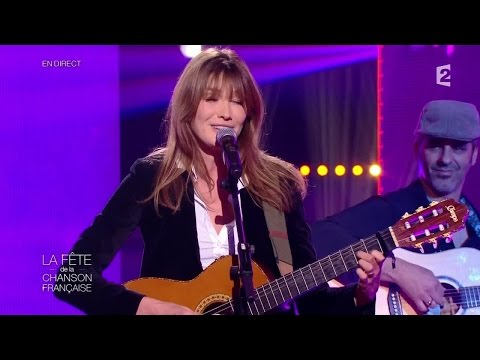 "Carla Bruni - ""Little French Song"" - Fête de la Chanson Française 2014"
