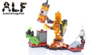 Lego Nexo Knights 70339 Ultimate Flama - Lego Speed Build Review