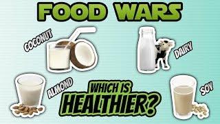 Coconut Milk vs. Almond Milk vs. Soy Milk vs. Dairy Milk (BEST MILK?)