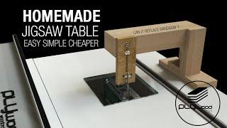 Homemade Jigsaw Table - DIY Jigsaw Table