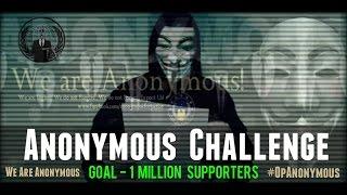 Anonymous Challenge - We need your help