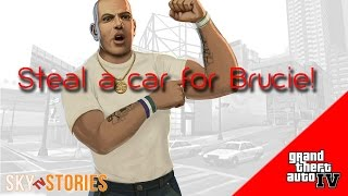 preview picture of video 'Steal a car for Brucie - GTA 4 gameplay with Sky'