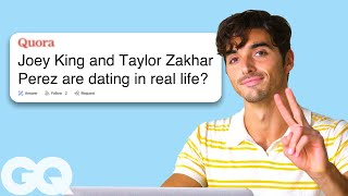 Taylor Zakhar Perez Goes Undercover on Reddit, YouTube and Twitter | GQ