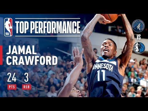 Jamal Crawford Shakes And Bakes His Way To 24 Points!