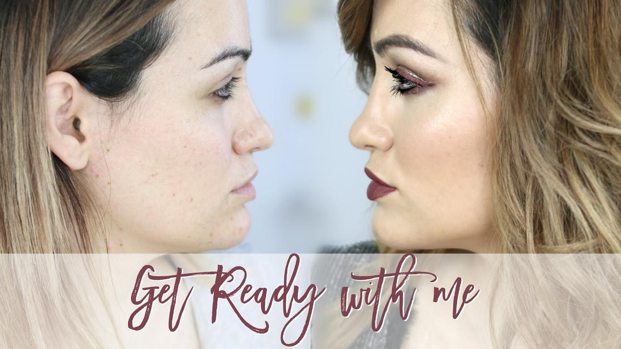 GRWM y habla! Maquillaje y peinado para estreno de 50 sombras mas oscuras