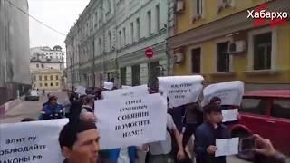 Ҳимоятгари ҳуқуқ Иззат Амон дар Москва дастгир карда шуд