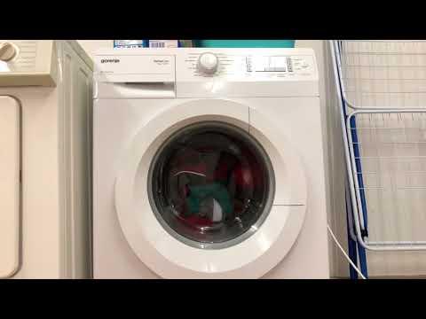 Entspannung Waschen Entspannungswaschen Impressionen Waschmaschine Gorenje Senso Care komplett ASMR