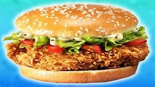 Гигантский ШЕФБУРГЕР из KFC. Как сделать его дома?