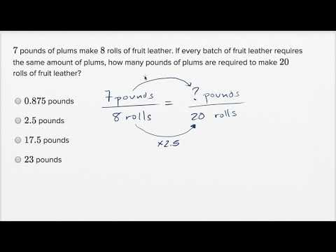 Ratios, rates, and proportions — Basic example (video) | Khan Academy